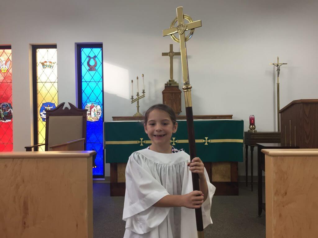 St. Paul's -Acolyte Cross